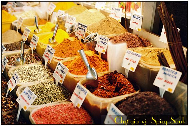 cho-gia-vi-Spicy-Souk-du-lich-dubai, du lich abu Dhabi