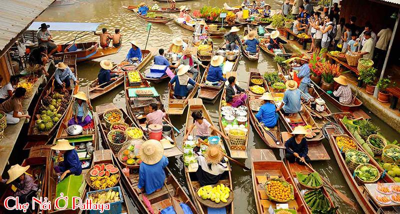 cho-noi-o-Pattaya, du lich Pattaya