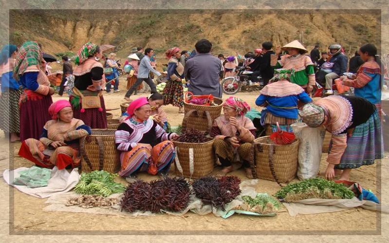 Chợ phiên - Hà Khẩu