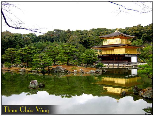 chua vang, du lich Tokyo Kyoto