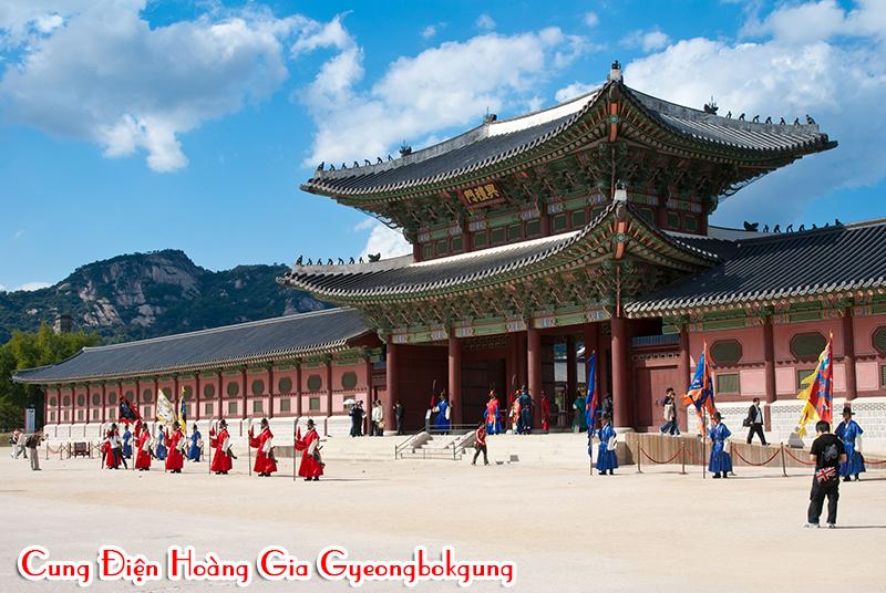 cung-dien-hoang-gia-Gyeongbok, du lịch seoul jeju
