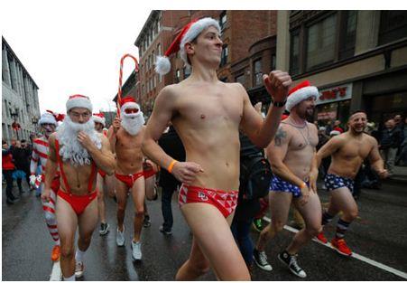 Cuộc chạy đua của những ông già Noel