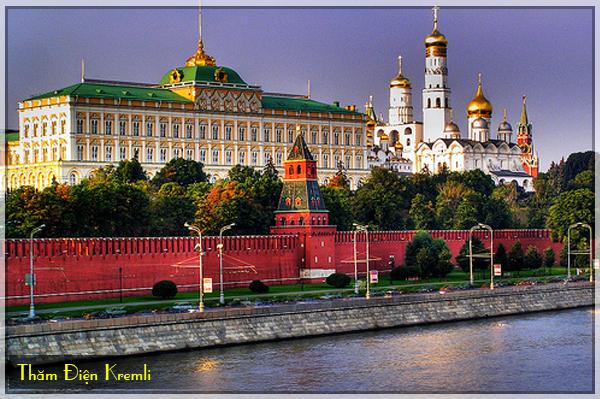 dien kremli, tour du lich nga 9 ngay