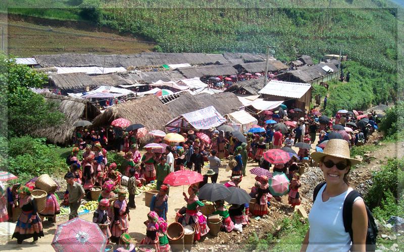 Khám phá chợ đầu năm ở Sapa