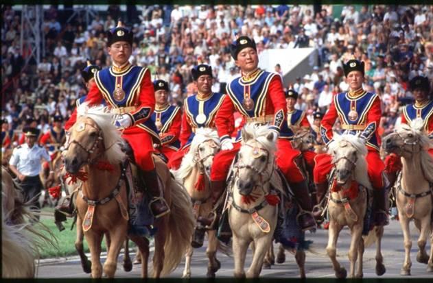 Trải nghiệm lễ hội Naadam địa phương