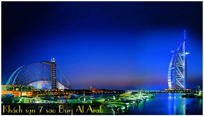 khach-san-7-sao-Burj Al Arab-du-lich-dubai, tour du lich dubai