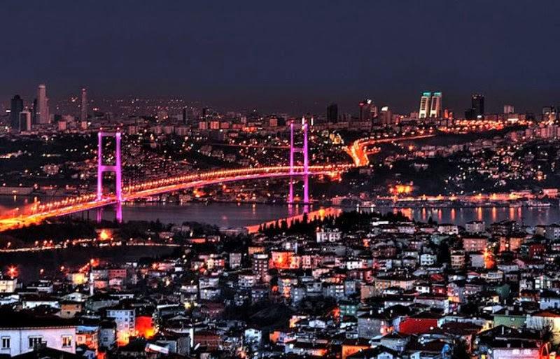 Thành phố Istanbul là trung tâm du lịch nổi bật nhất ở Thổ Nhĩ Kỳ