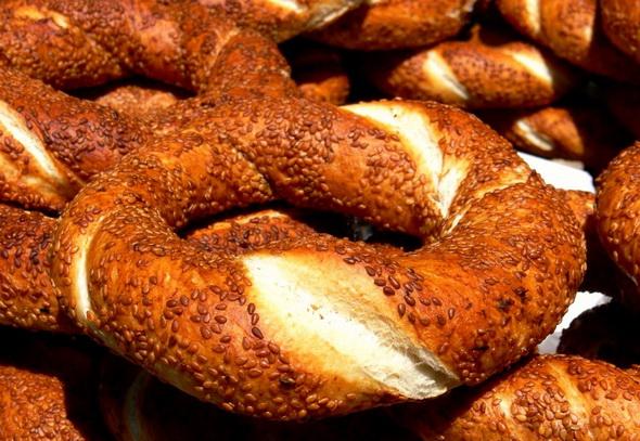 Bánh mì mè truyền thống của Thổ Nhĩ Kỳ