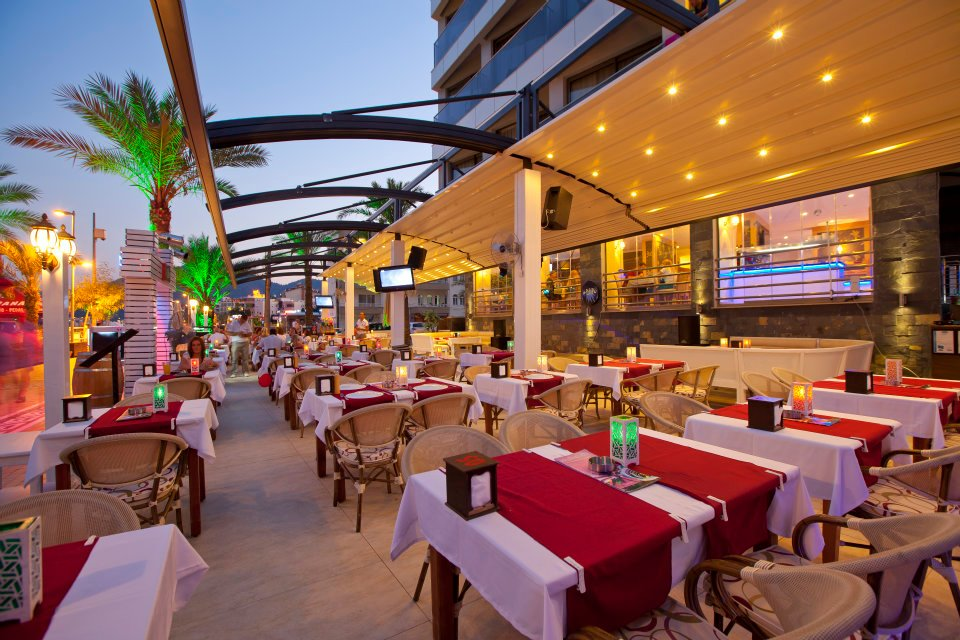 Một nhà hàng sang trọng mang đậm phong cách Thổ Nhĩ Kỳ