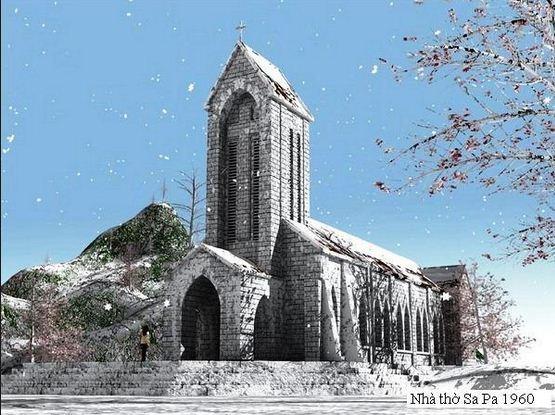 Khám phá nhà thờ đá cổ nổi tiếng ở Sapa