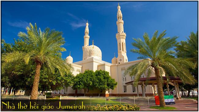 nha-tho-hoi-giao-Jumeirah, tour du lich dubai