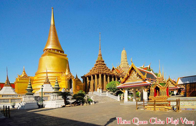 tham-quan-chua-phat-vang, du lich bangkok pattaya 4 nagy 3 dem hap dan