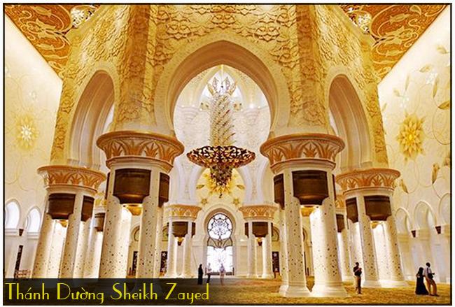 thanh-duong-Sheikh Zayed 2, tour du lich dubai hap dan 2015