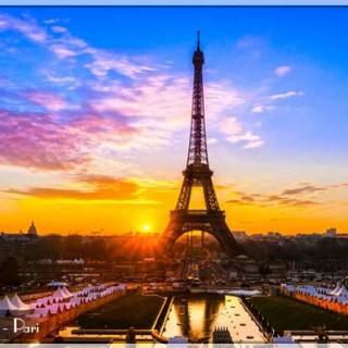 thanh-pho-Paris-hoa-le, du lich chau au