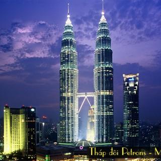 thap doi Petronas, du lich Malaysia,