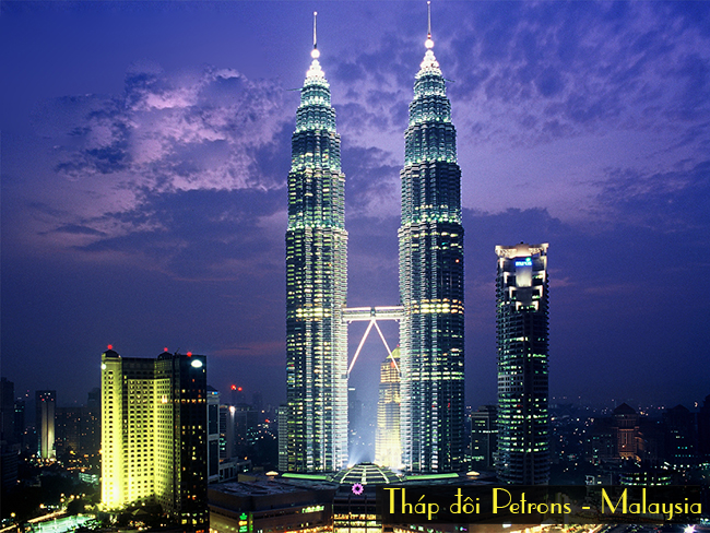 thap doi Petronas Malaysia, du lich singapore malaysia