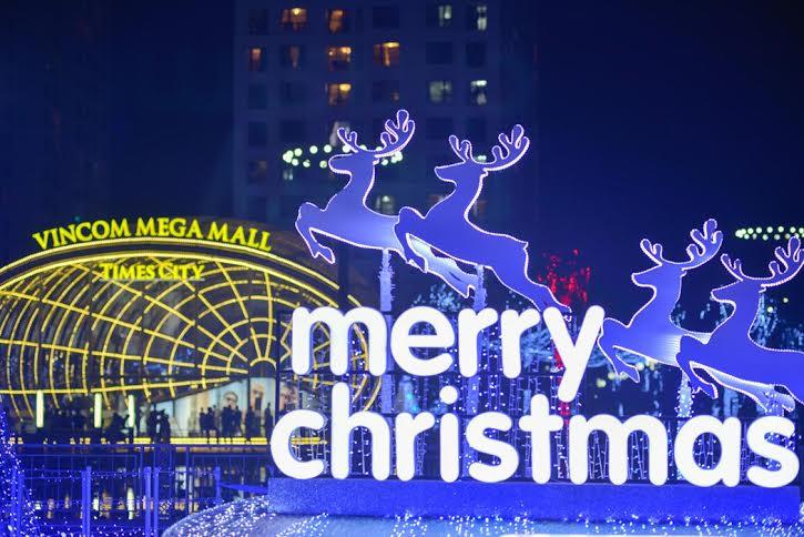 Times City được trang hoàng rực rỡ chào đón Giáng sinh 2014