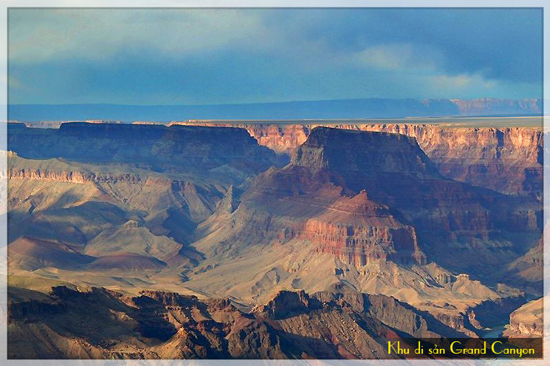 khu di san grand canyon, tour du lich my